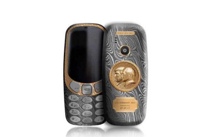 Eis o Telemóvel Nokia 3310 Putin - Trump
