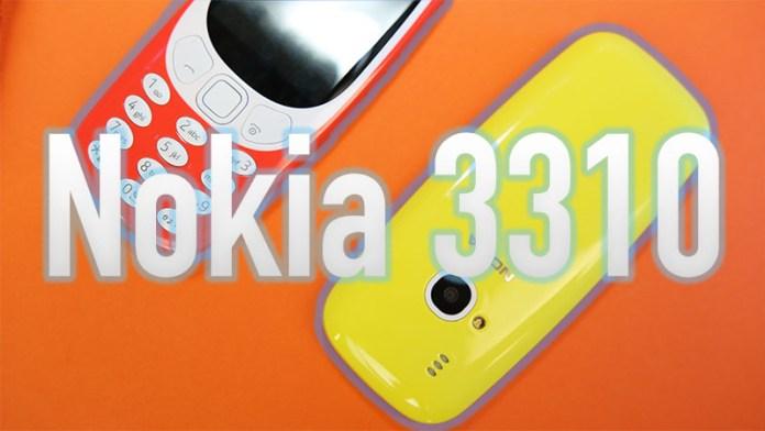 Nokia 3310 telemóvel