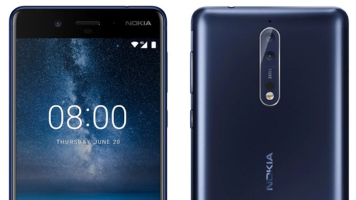 Nokia 8 Android 8.0