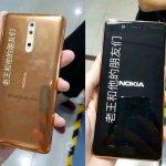 5 pontos Nokia 8 Smartphone Dourado