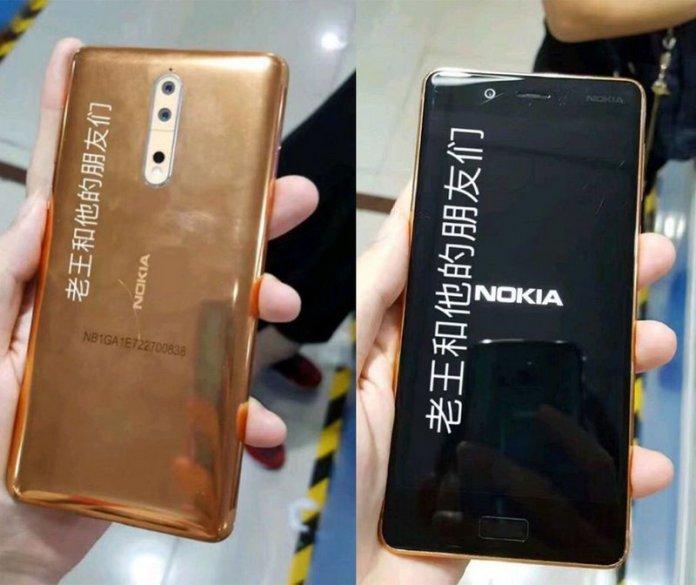 Nokia 8 Smartphone Dourado