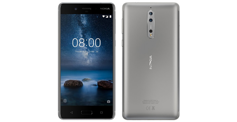 Smartphone Android Nokia 5 Portugal Nokia 8 smartphone