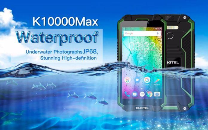 Este é o novo Oukitel K10000 Max com IP68