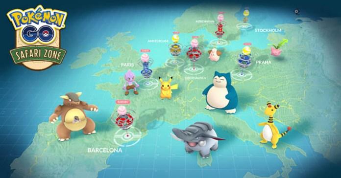 Pokemon Go Europa Kangaskhan