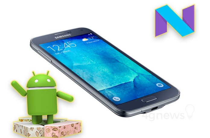 Samsung Galaxy S5 Neo Android Nougat