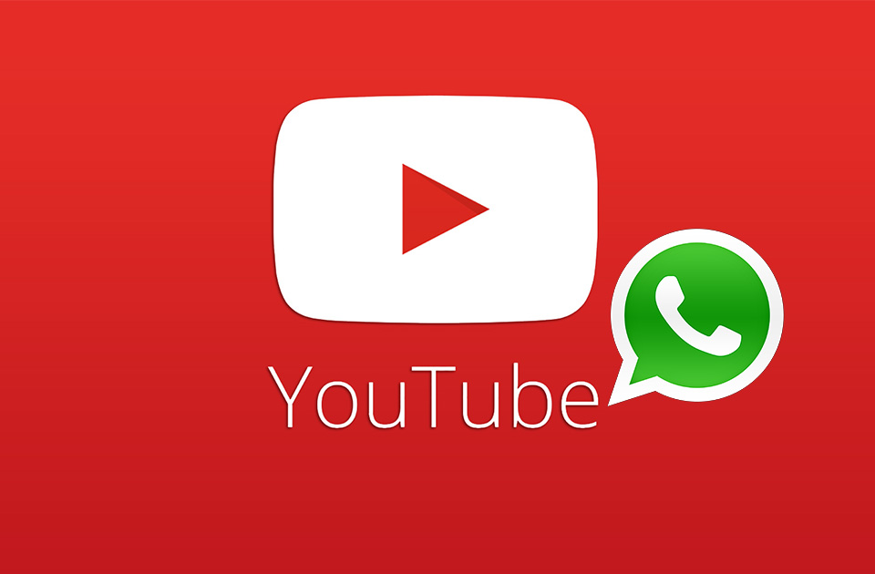 WhatsApp agora com funcionalidade para o YouTube
