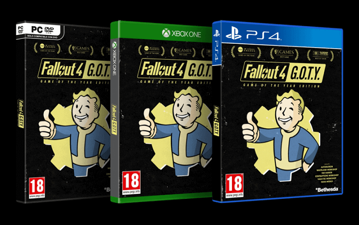 Revelada a Fallout 4: Game of the Year Edition