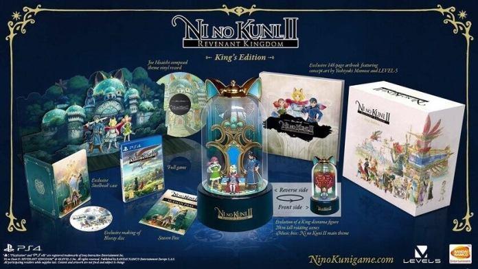 O jogo Ni No Kuni II: Revenant Kingdom chegará a 19 de janeiro