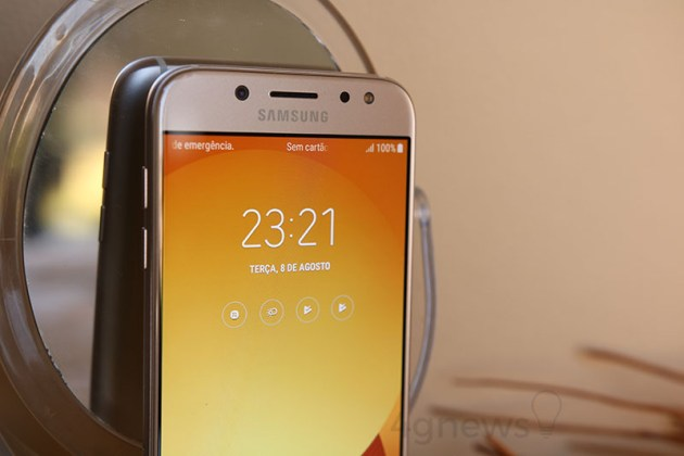 Samsung Galaxy J5 (2017) Samsung Galaxy J7 (2017) 4gnews Review Análise Smartphone