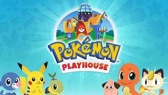 Voltado para crianças, Pokémon Playhouse é lançado para dispositivos móveis