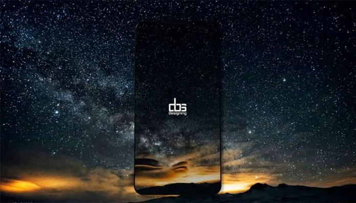 Concept do Samsung Galaxy S9; Imagem: DBS Designing Samsung Galaxy S9 Plus