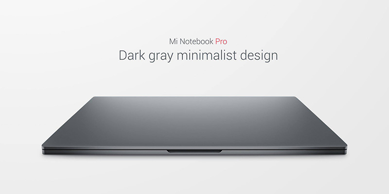 Xiaomi lança Mi Notebook Pro