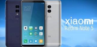 Xiaomi Redmi Note 5 Android Smartphone