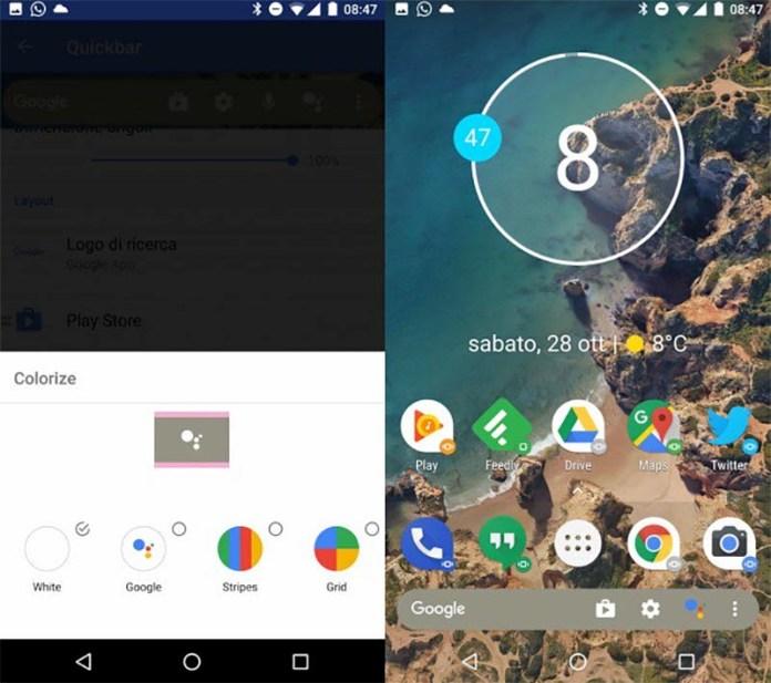 Action Launcher Google Pixel 2