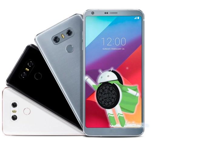 LG G6 Android Oreo atualização