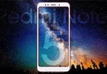 Xiaomi Redmi Note 5 Smartphone Android