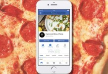 encomendar comida Facebook