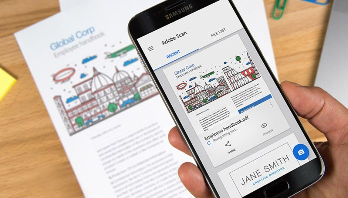 Adobe Scan PDF Google Play Store