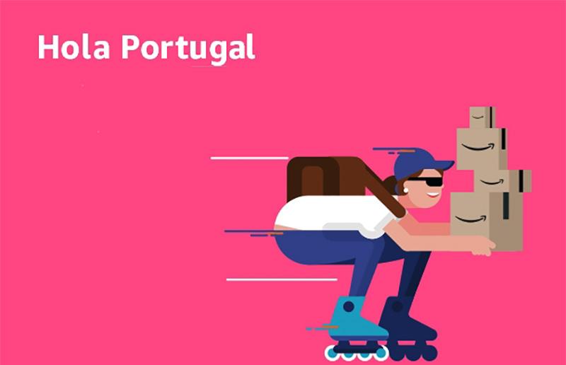 Entregas de compras da Amazon.es passam a ser grátis — Portugal