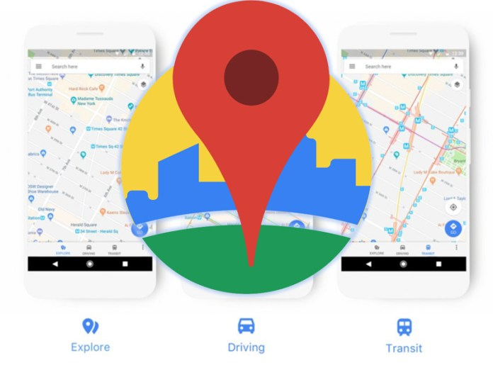 Google Maps Web Android iOS