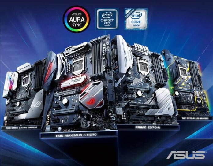 Motherboards ASUS Z370 1
