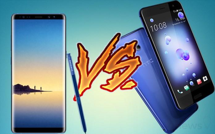 Samsung Galaxy Note 8 HTC U11