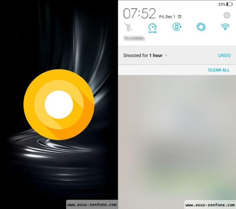 ZenFone 3 com Android 8.0 Oreo revela o novo ZenUI