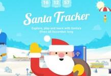 Google Santa Tracker Pai Natal App