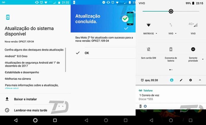 Motorola Android Oreo 8.0