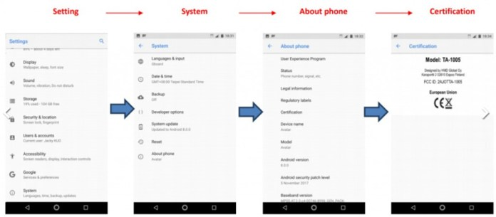 Smartphone Nokia 9 Android Oreo 8.0