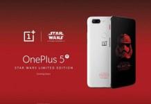 OnePlus 5T Star Wars smartphone