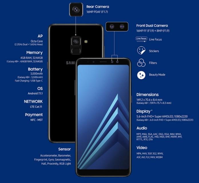Samsung Galaxy A8 2018