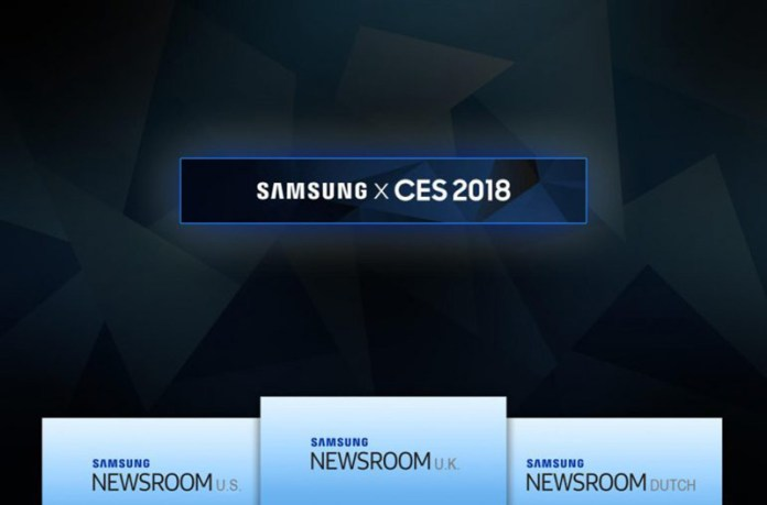 Samsung Galaxy X CES 2018 smartphone