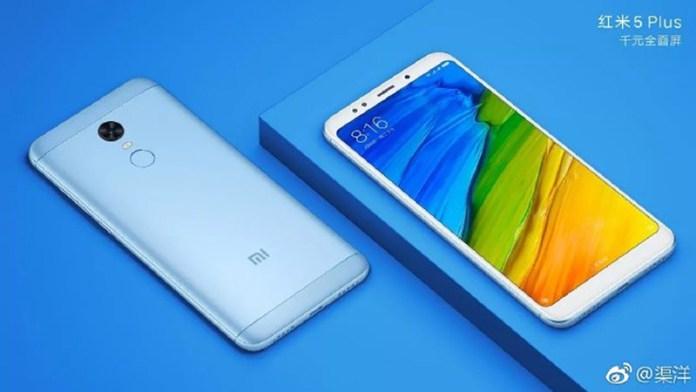 oficial Xiaomi Redmi 5 e Redmi 5 Plus