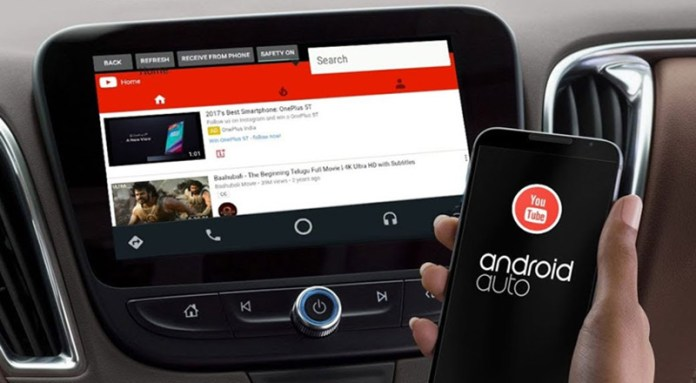 Android Auto YouTube Auto
