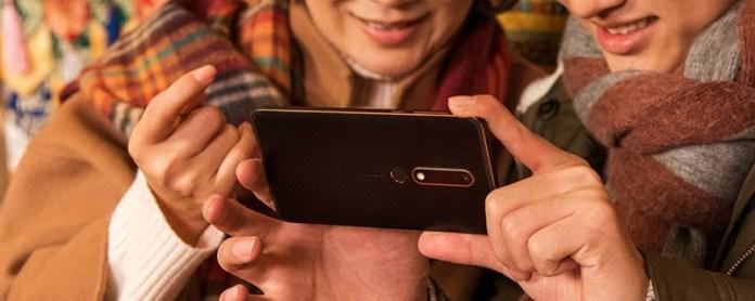 smartphone Nokia 6 2018 Android Oreo