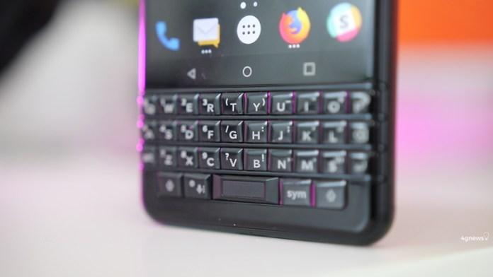 Android. Primeiras imagens reais surgem do BlackBerry KeyTwo