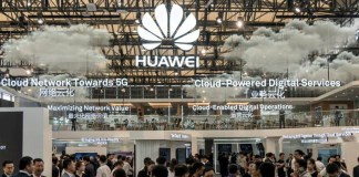 Android Huawei P20 cloud smartphones