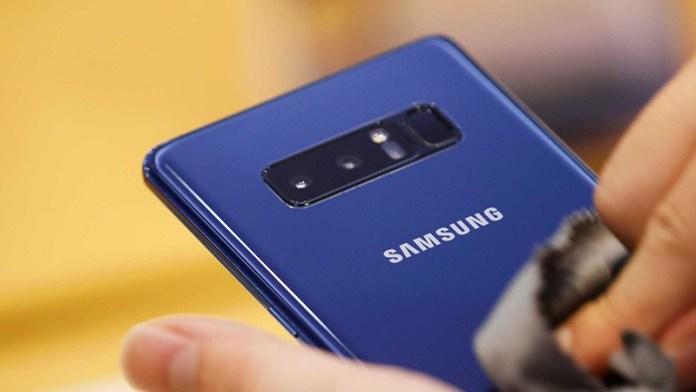 Samsung Galaxy S9 Samsung Galaxy Note 8 espaço problemas