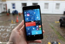 Microsoft Lumia 650XL Windows 10 Mobile
