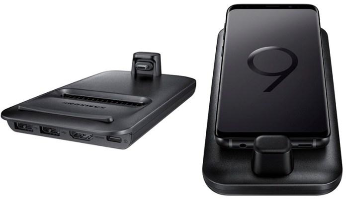 Linux Samsung Galaxy S9 DeX Pad acessórios oficiais Samsung DeX Pad Samsung Galaxy S9