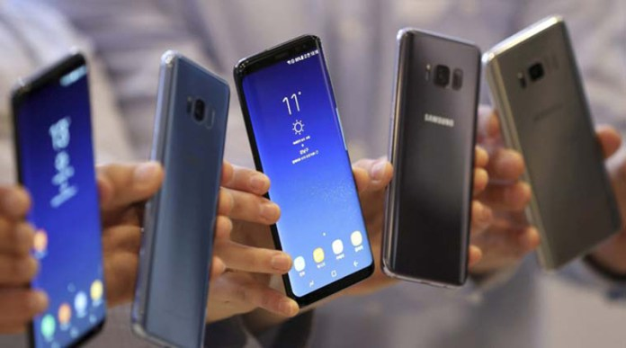 smartphones Samsung Galaxy S8 Android Oreo Junho segurança