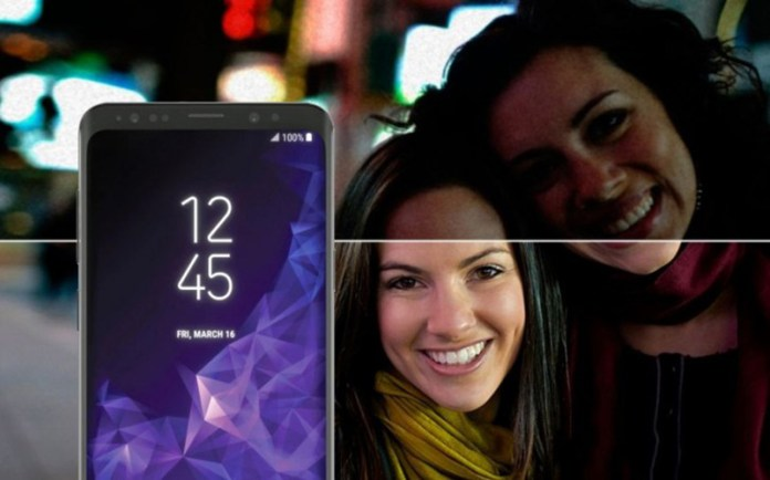 Samsung Galaxy S9 Plus cores Sony IMX Android