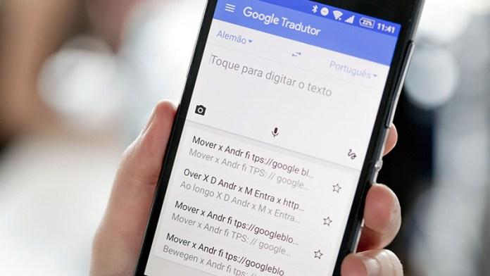 Google Tradutor App Android
