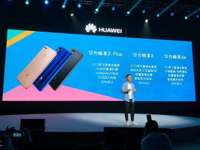 Huawei Enjoy 8 Android Oreo