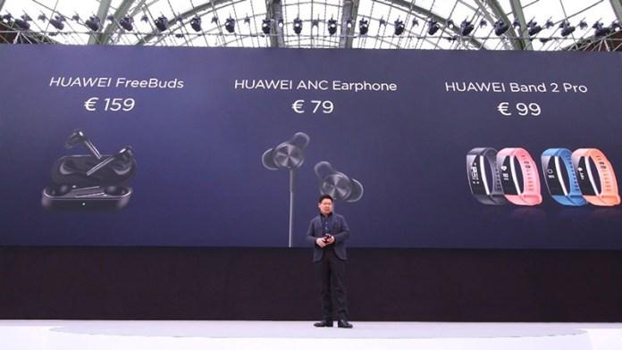 Huawei FreeBuds Apple AirPods da Apple