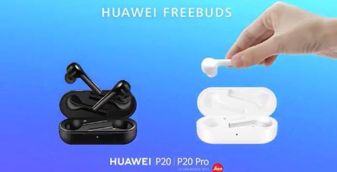 Huawei FreeBuds AirPods da Apple