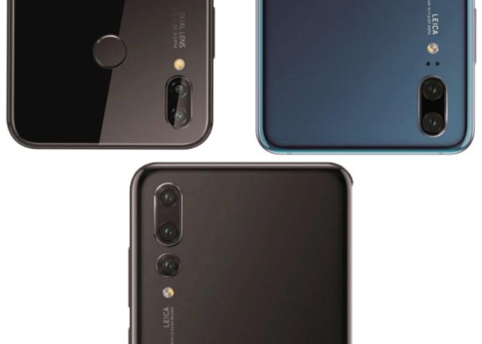 Huawei P20 Pro Huawei P20 Lite