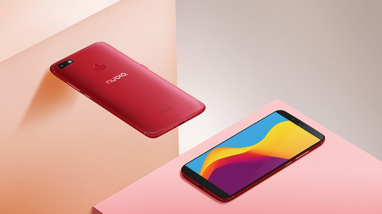 Nubia V18 smartphone Android