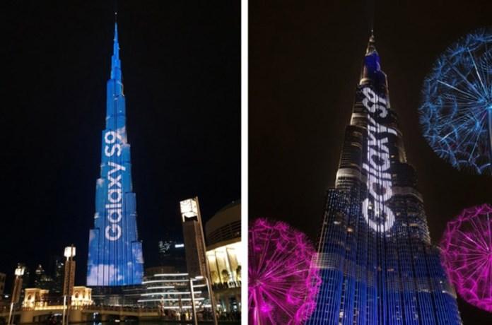 Burj Khalifa Samsung Galaxy S9